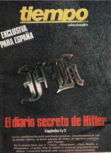 "Portada española de los ""Diarios de Hitler"""