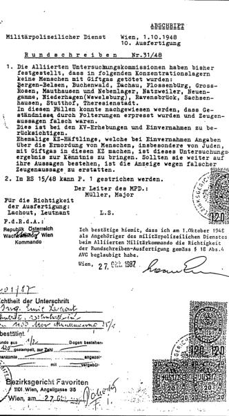 Lachout-Dokument